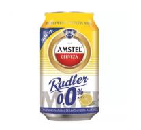 Heineken España presenta su nueva cerveza sin alcohol: Amstel Radler 0'0