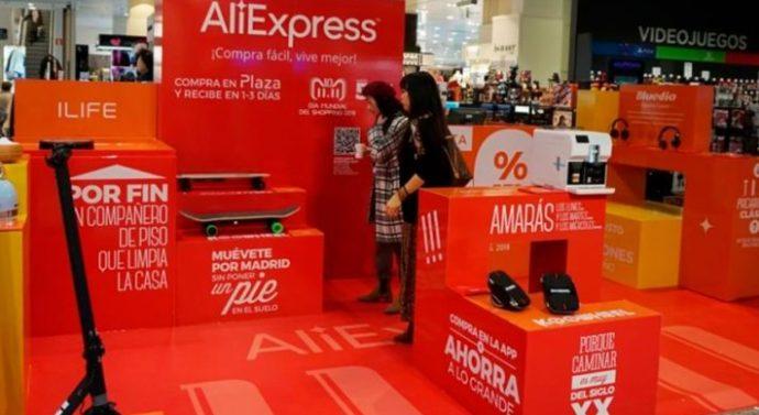 AliExpress entrará al mercado de venta de comida en línea