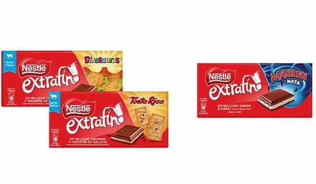 Nestlé presenta sus tabletas rellenas de galleta