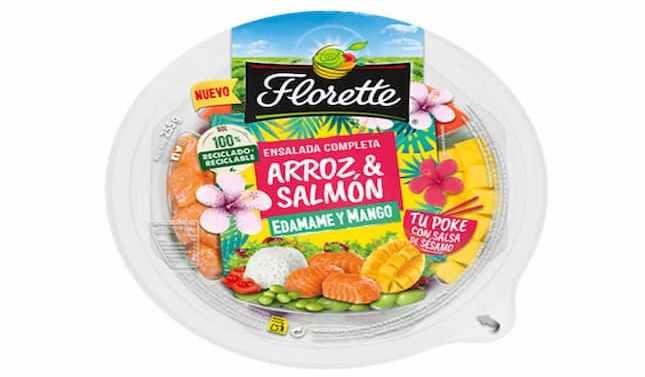 Florette lanza a probar los sabores de Hawái con su nuevo Poke Bowl