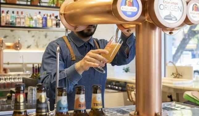 Cruzcampo y Amstel aportan más de 15 millones de cañas como apoyo a los bares