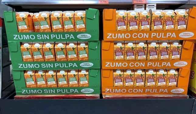Mercadona duplica sus ventas de zumo de naranja