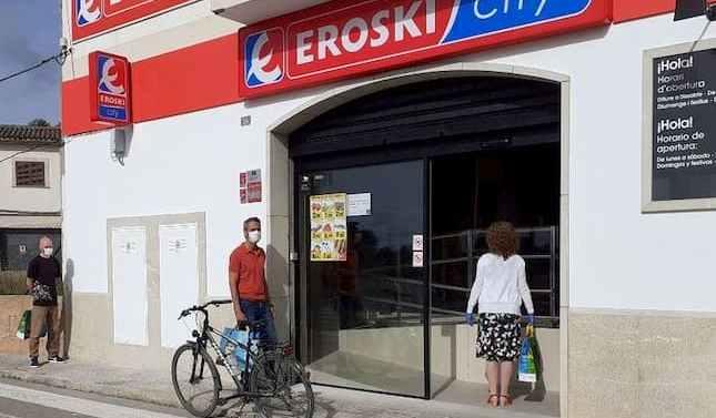 Eroski inaugura un nuevo supermercado franquiciado en Porreres, Mallorca