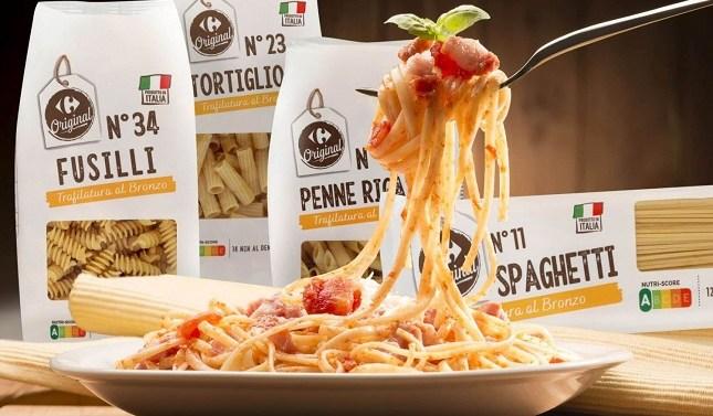 Carrefour presenta su nueva gama de pasta italiana «Carrefour Original»