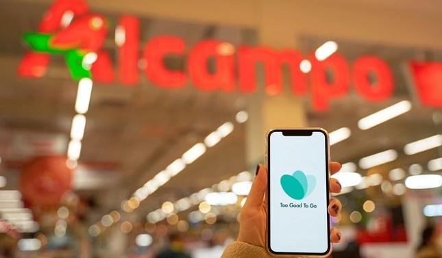 Carrefour y Alcampo extienden sus acuerdos con Too Good To Go