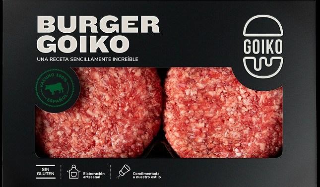 Goiko lleva sus hamburguesas y panes a los supermercados