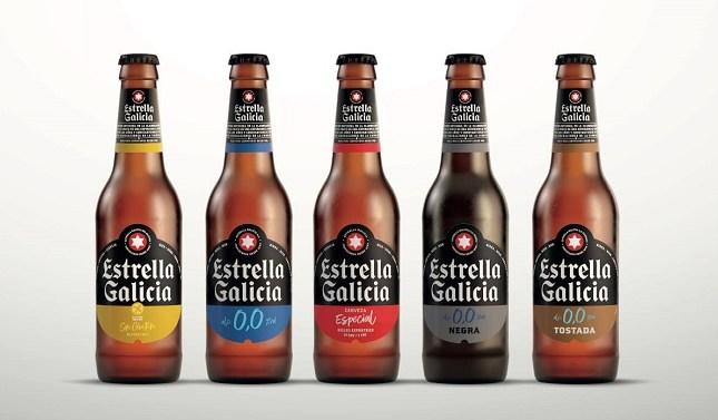 Estrella Galicia renueva su imagen y lanza un packaging más sostenible