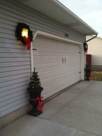 Exterior Garage Decor