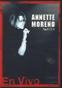 Dvd Annette Moreno En Vivo  Annete Moreno & Jardin