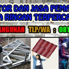 Agen Baja Ringan Taso Di Surabaya Jasa Pasang Per Meter 0811 338 949