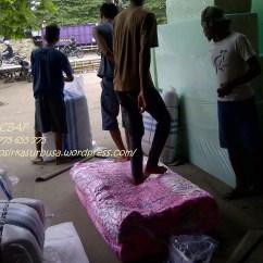 Sofa Bed Kasur Busa Lipat Inoac Jakarta Leather For Sale Harga