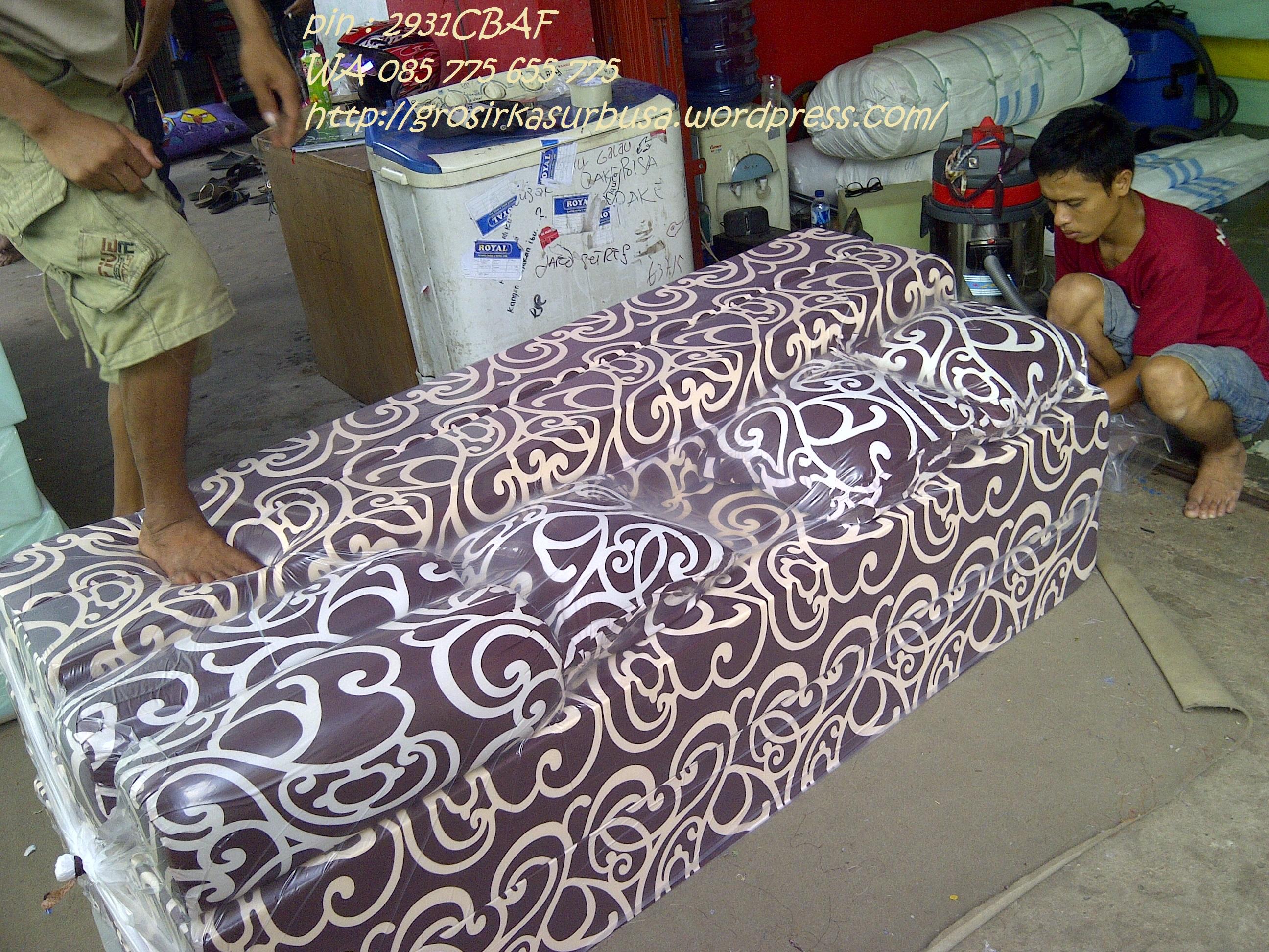 sofa bed kasur busa lipat inoac jakarta cheap sofas sets for sale harga