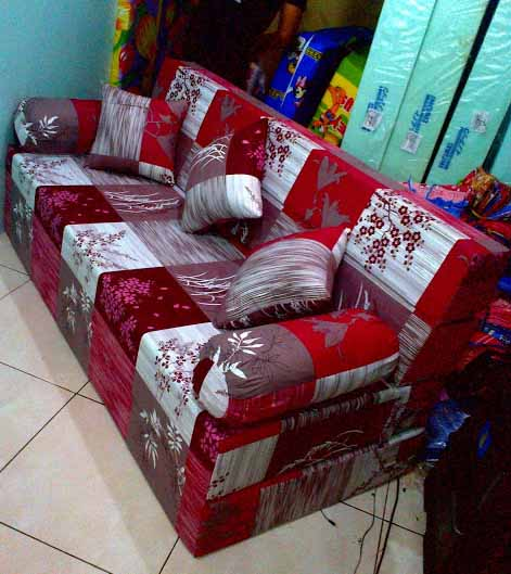sofa bed kasur busa lipat inoac jakarta car seat australia kramat jati harga pabrik asli dan grosir purwakarta