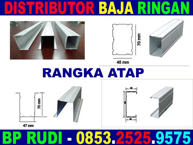 harga rangka atap baja ringan di malang distributor surabaya 0853 2525 9575