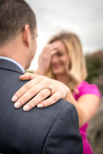 Engagement and proposal photography by Photos from the Harty | District Bliss Blog Post