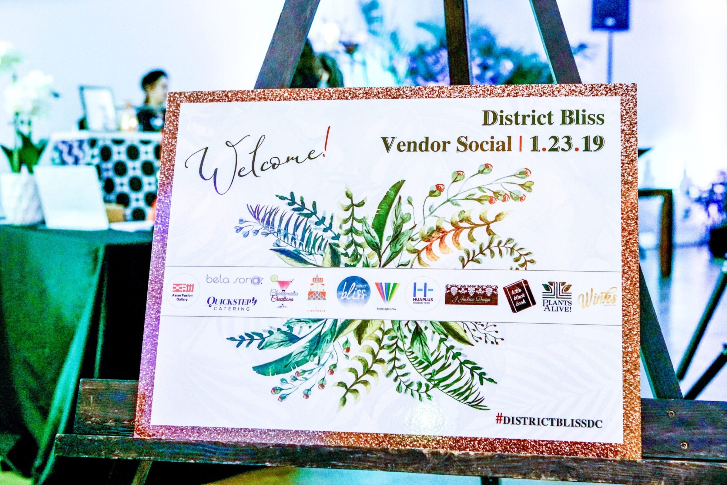 Light-hearted, welcoming networking events hosted by District Bliss