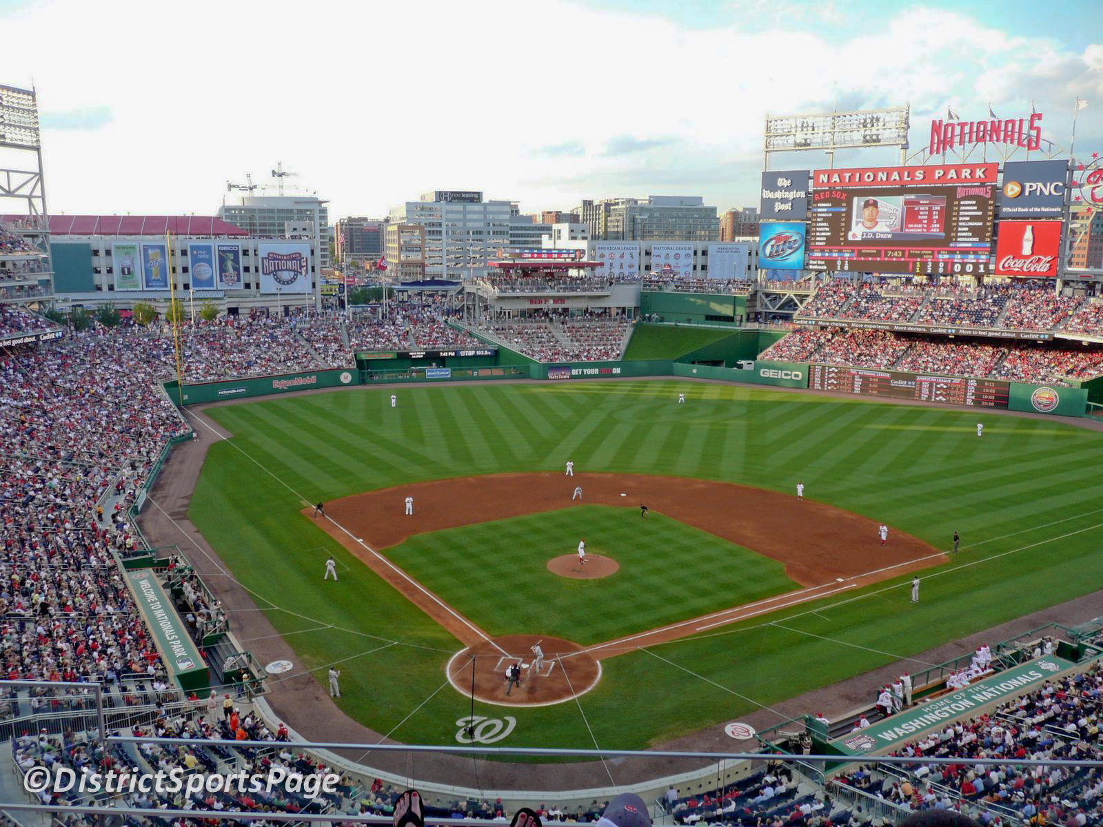 Can You Bring Food To Nationals Park