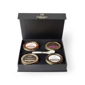 coffret cadeau caviar entreprise noel anniversaire