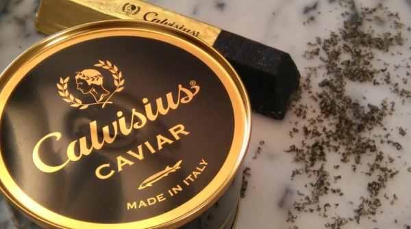 lingot de caviar, caviar séché calvisius, lingot caviar lyon