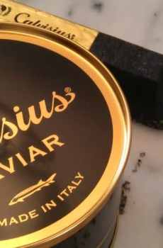 Produits élaborés caviars
