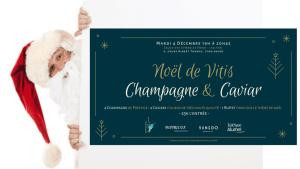Soirée Noël Vitis Vinifera : Caviar et Champagne @ Salon des Symboles Nord Université Jean Moulin Lyon 3