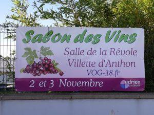 Salon vins et terroirs - Villette d'Anthon @ Salle de la Révole