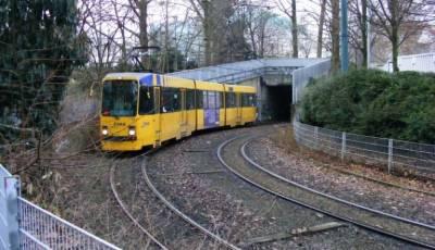 Essen Tunnel Entrance