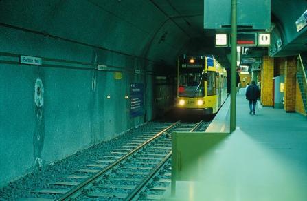 Essen Tram Underground station