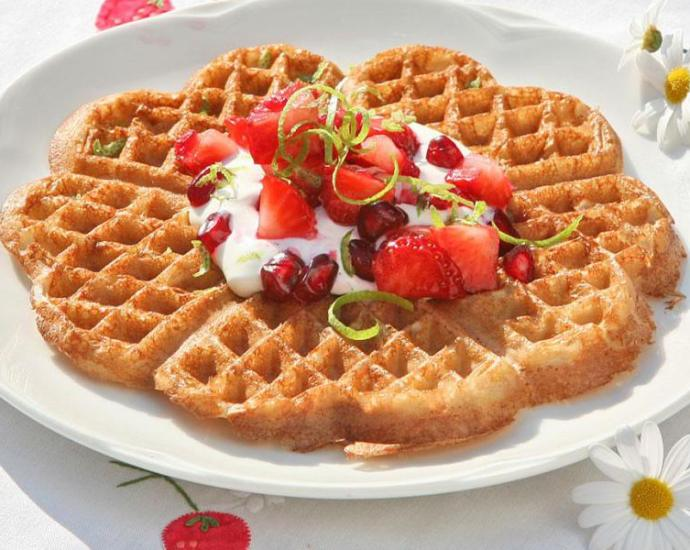 Norwegian Quick Waffle Recipe at the official Waffel Day