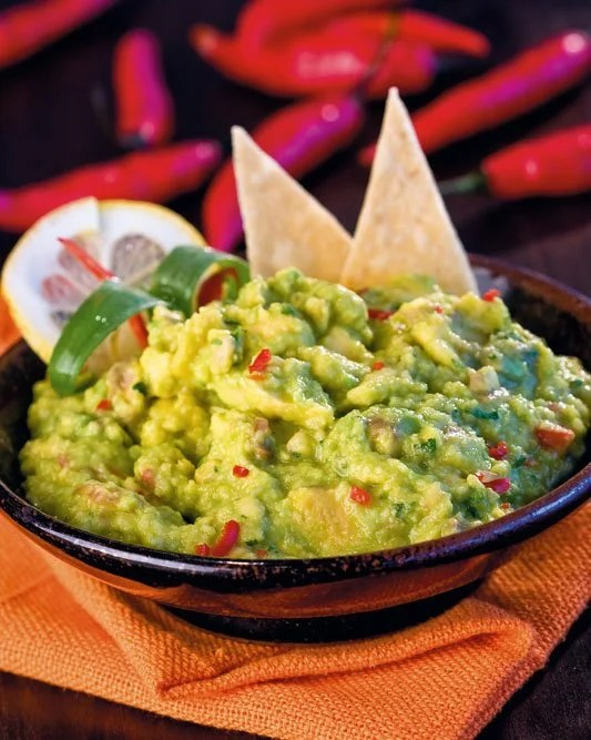 Guacamole dressing and dip