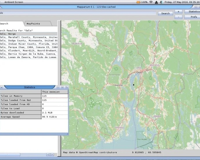 OpenStreetMap viewer Out for AmigaOS Systems