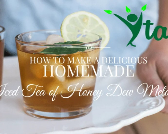 New Homemade Iced Tea Recipe - explore brand new Tea Flavors