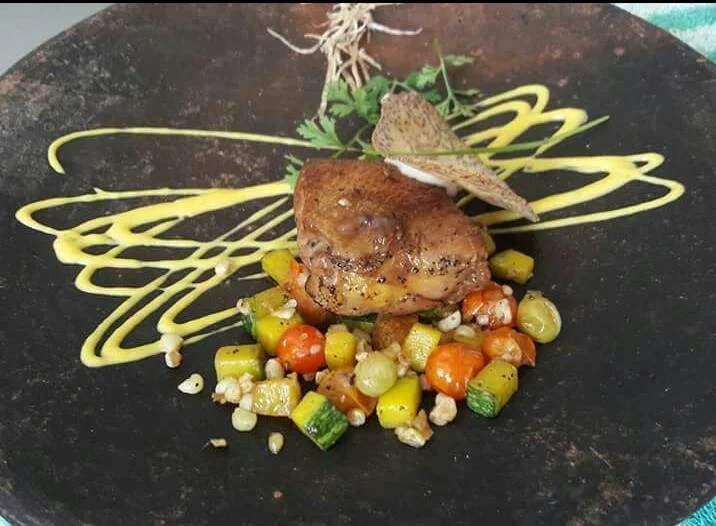 Amazing Duck with candied fruit Recipe, Amazing Food Cooking Tips