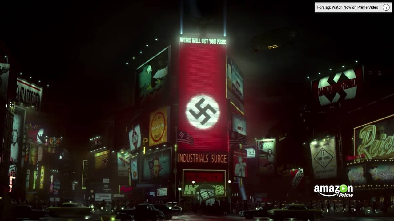 The Man In The High Castle post apocalyptic Sci-Fi Drama