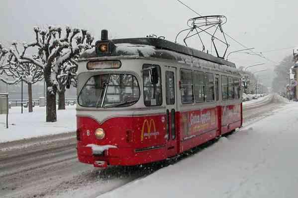Gmunden in Austria Expands it's Shortest tram line