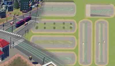 Cities Skylines Tram Avenues