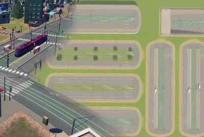 Cities Skylines Tram Avenues