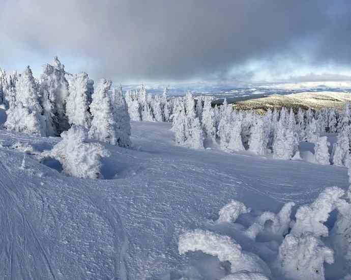 Canada Snowy Weather