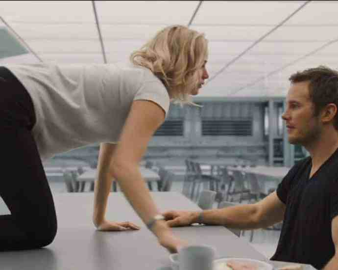 Passengers is one of the Most Intelligent Sci-Fi Love Story Movies ever made