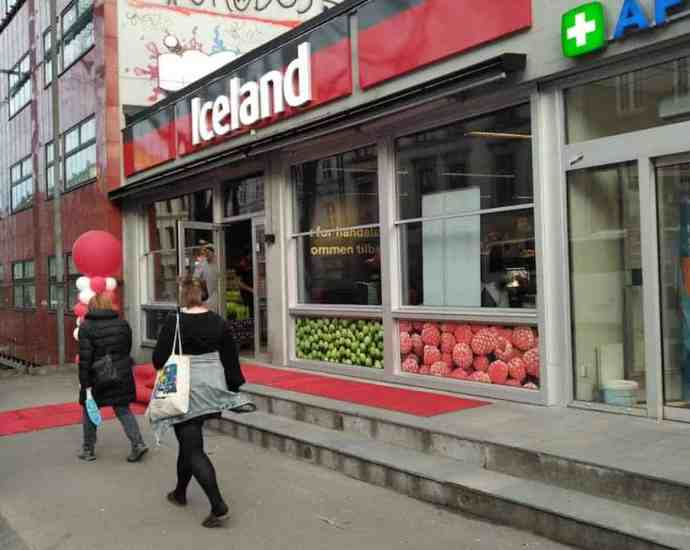 Iceland opened at two locations in Oslo Norway