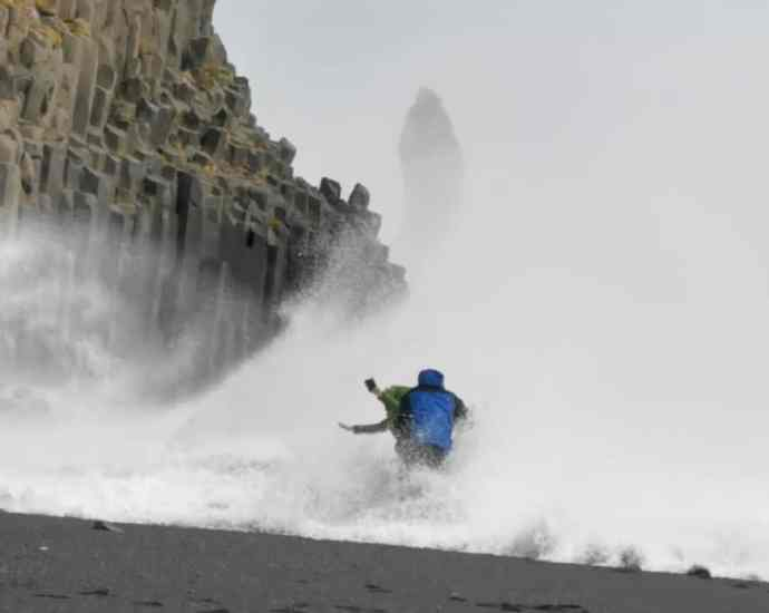 Reynisfjara in Iceland is Not a Playground