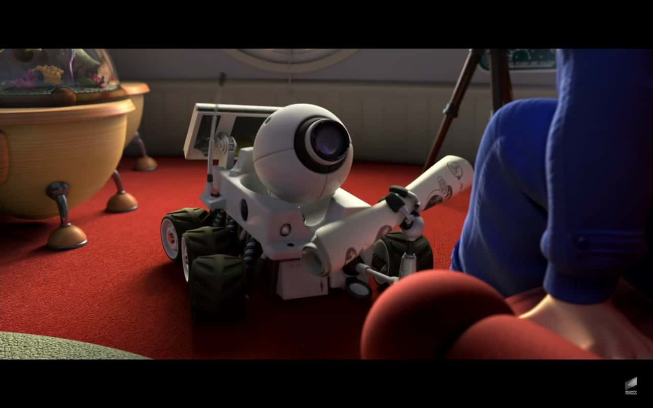Rover in Planet 51