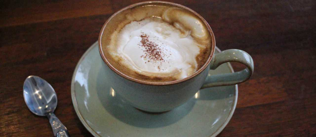 Wiener Melange - Mokka half and half with hot milk, often with creamy milk above