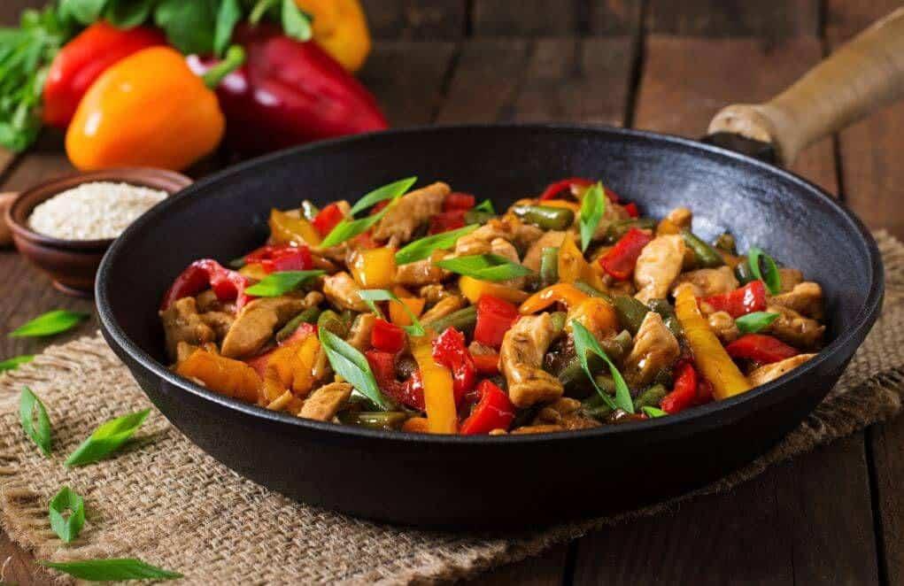 chicken wok supreme