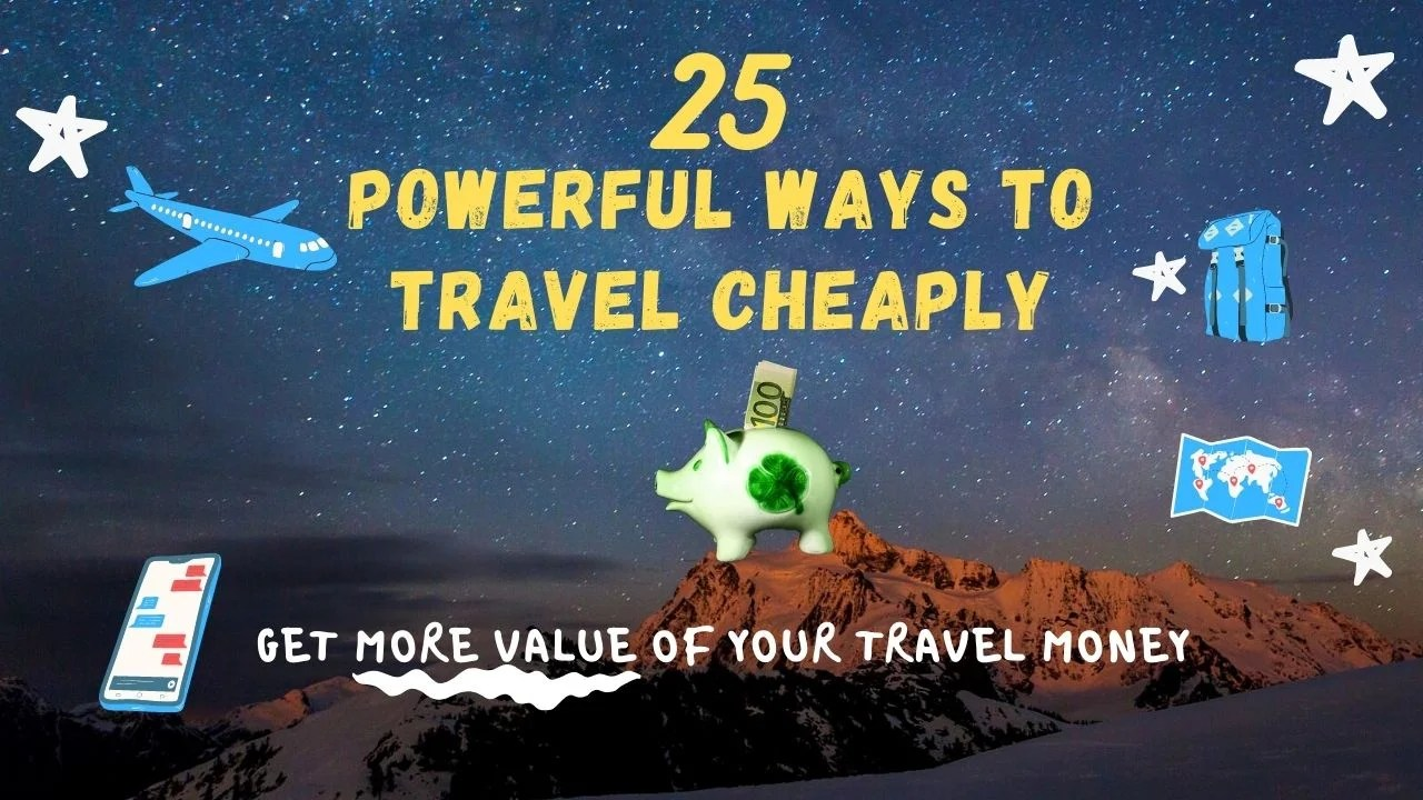 ways to travel cheaply