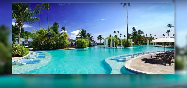 Gran Melia Puerto Rico, beautiful swimming pool area