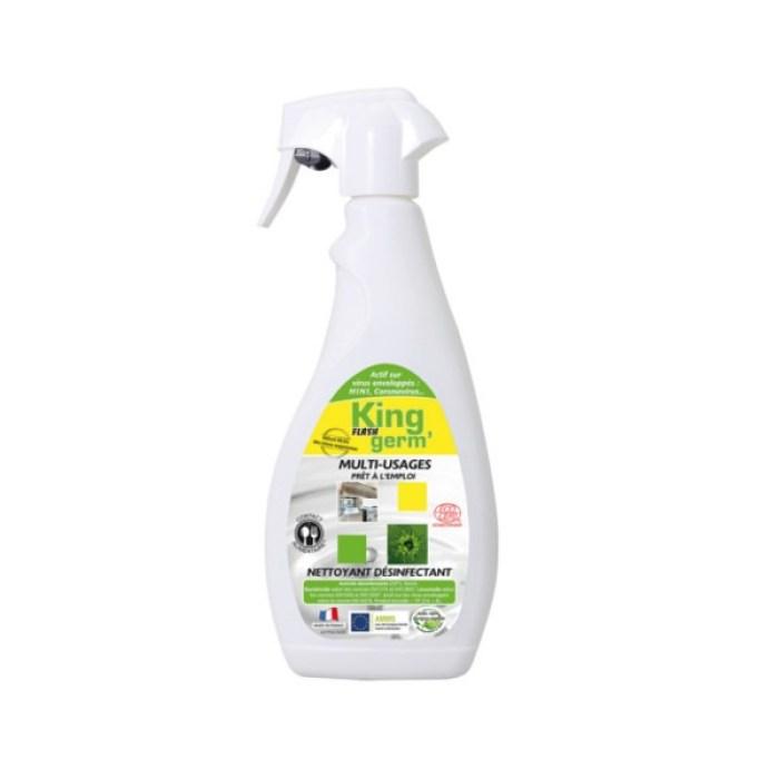 désinfectant virucide Acide lactique prêt à l'emploi