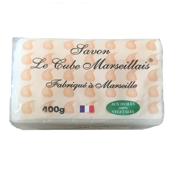 Savon de Marseille blanc 4 x 100 g