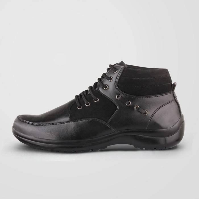S Van Decka Sepatu Pria Formal MTZ010 HITAM
