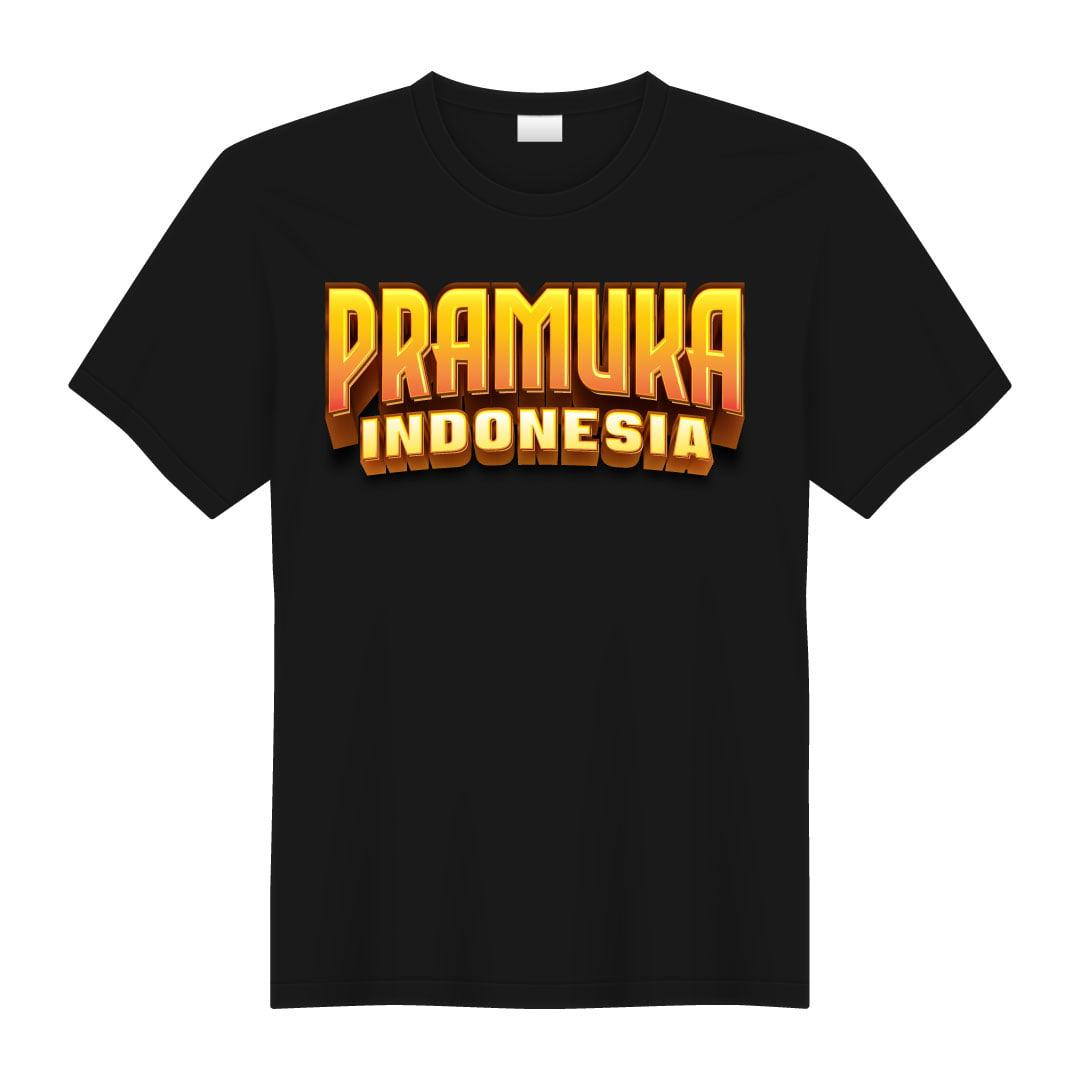 Kaos Pramuka Premium 01